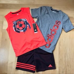 Adidas bundle: boys 7